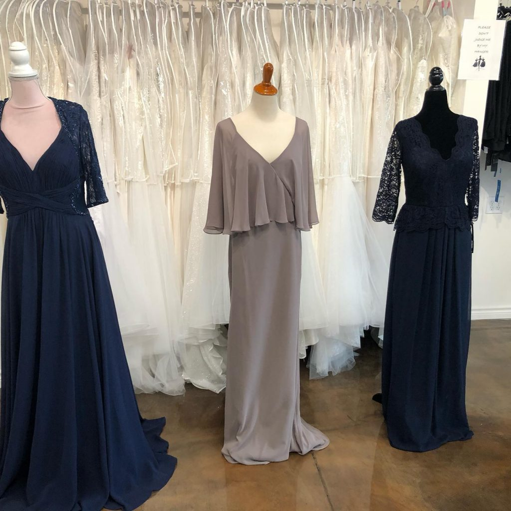 Gowns with sleeves
