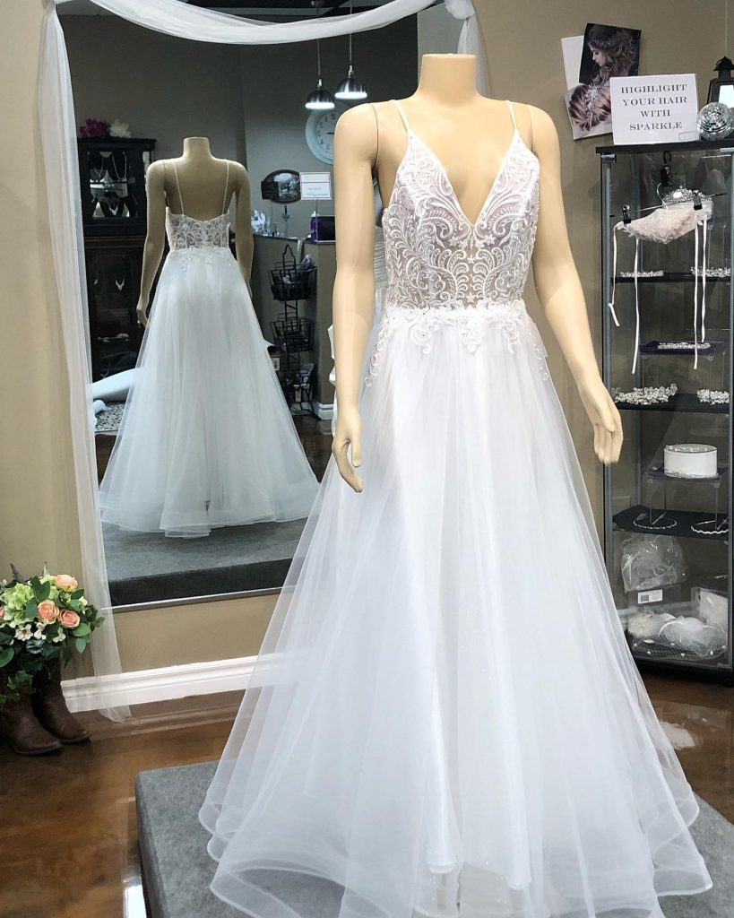 Light and Airy Off the Rack Gown