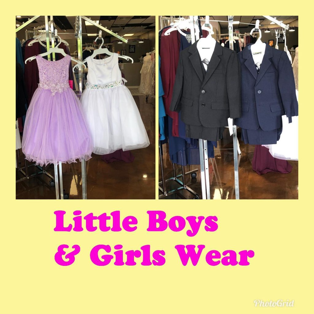 Little Gals and Guys wear