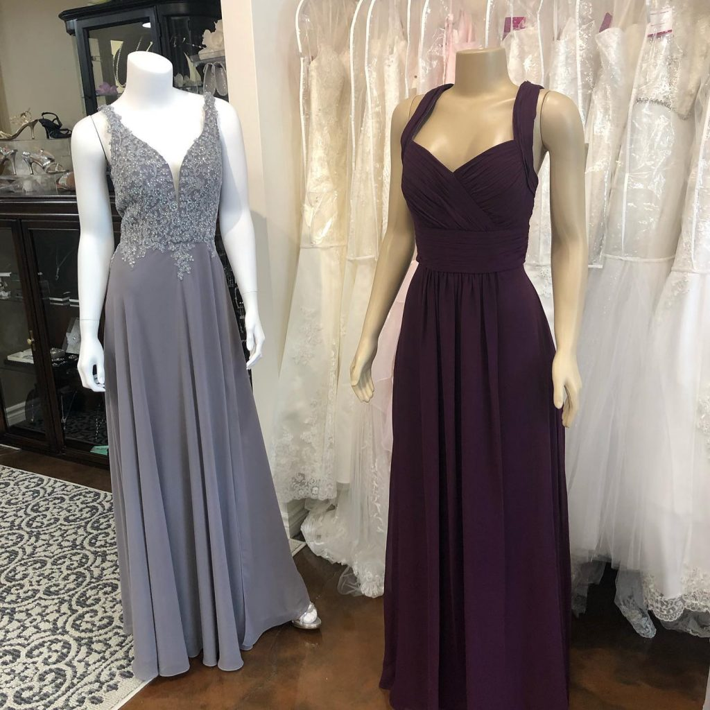 Off the rack gowns